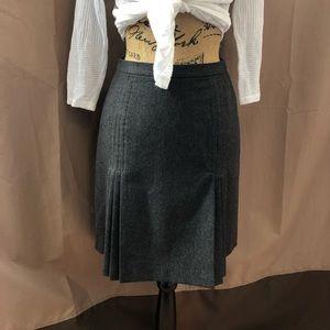 J. Crew Skirt Wool Pleated Skirt